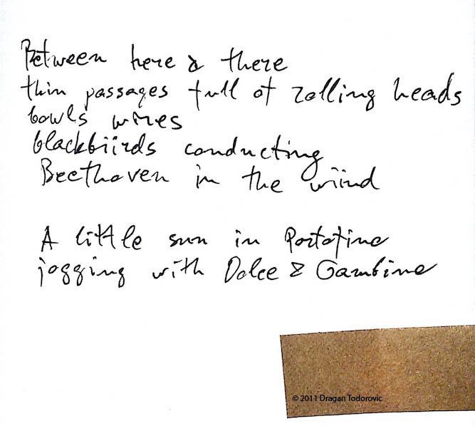 Portofino - a poem by Dragan Todorovic